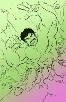 Incredible Hulk. by scootah91