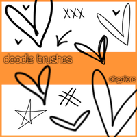 Doodle Brushes by ohgalore