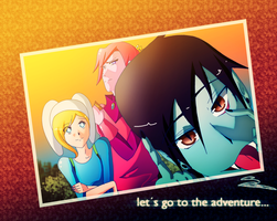lets go to the adventure by Lezzette