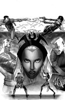 X-MEN 26 Grayscale by ZurdoM