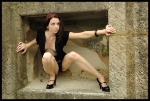 Kathryn - black in the box 3 by wildplaces