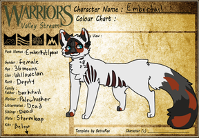 Embertail Willowclan Reference by SophSouffle