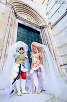 Mirka and Seth Cosplay - Trinity Blood by yukinohanacosplayart