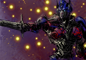 TF4 Optimus Prime by rougedeath