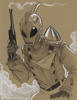 Warm Up 1, 12-31-2013 The Rocketeer by Hodges-Art