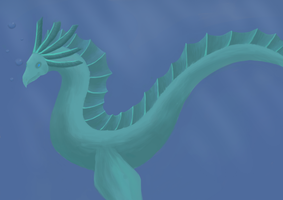 WIP, Sea dragon by Aralon