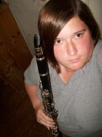 Kayla the Clarinetist by chuckylover