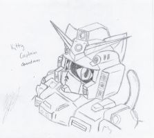 Kitty Captain Gundam by chaosphoniex