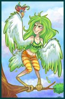 Cochibi:: Bird is the word by vaporotem