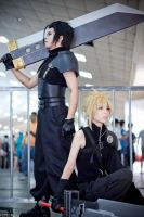 Final Fantasy VII Cloud Strife by Akira0617