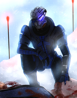 ME: Casualties [Commission] by LadyTheirin