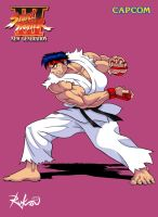 Street Fighter III HD - Hadouken Test by Rukasusan
