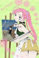 Artsy Rosario+Vampire Color by Misery-Lily
