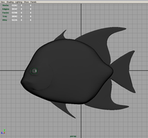 Panfish Model - Untextured by pntbll248