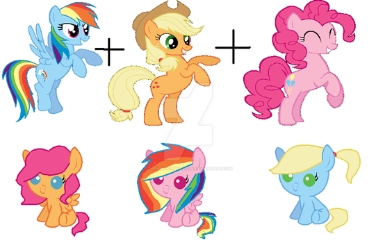 Super random mlp adopts 5 by TheWingedSkeleton
