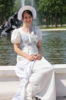 Toile de Joyle Empire/Regencydress by Gluecksgrille