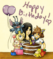 Happy Birthday Wildy71090 by Kiome-Yasha