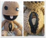 Sackboy with Zipper Pouch by Ami-Amour