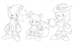Sonic 3 by LeatherRuffian