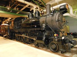 Pennsylvania 4-4-0 No. 1223 by rlkitterman