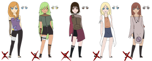 Naruto adopts set 1 (CLOSED) by Linas-adopts
