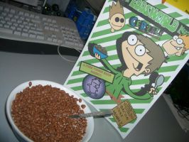 Me eating Eddsworld Cereal by Moon-manUnit-42