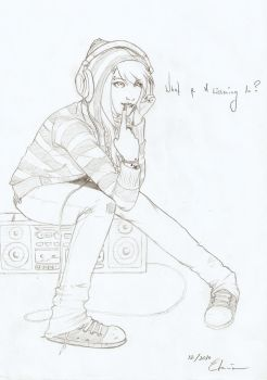 draft - what r u listening to by Tharyia