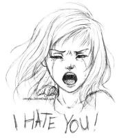 I Hate You by Loonaki