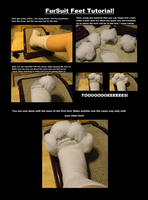 Fursuit Feet Base Tutorial by WolfAvenge
