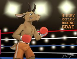 Bugsy McClain - Boxing Goat (1) by SAGADreams