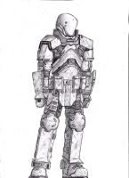 Assault heavy armor V2 by shadowtrooper4