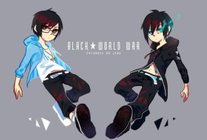 Black World War by LengYou