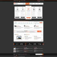 Xhosting Dark version by brillianthemes