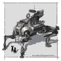 Large Mech design by DrZoidberg96