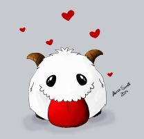 Poro - League of Legends by AnaFSimao