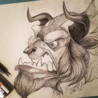 The Beast by Michael-James-Lozano