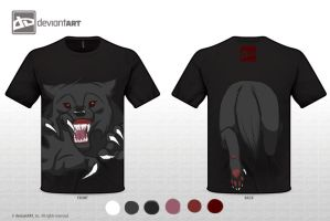 T-Shirt Design Challenge: Mythical Creature by Mew-Suika