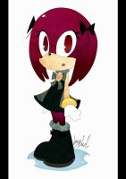 sonic fan character Sylvia by Hiyorilove