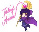 Chibi Mage by Zombiesmile
