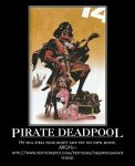 Pirate Deadpool by MexPirateRed