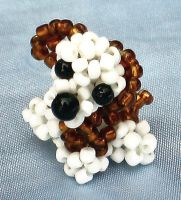 maltese terrier by Craftcove