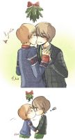 Kyumin - Christmas Kiss by Fuko-chan