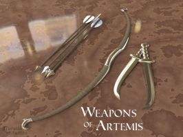 Weapons of Artemis by CorellaStudios