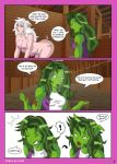 from green to pink 5 by Apokol