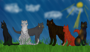 Warriors: The New Prophecy Cats by Finneck
