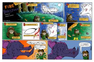 Fire and Brimstone sunday Strip- Wolf On Hilltop by thetoon43