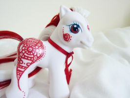 Custom my little pony ruby henna baby 3 by thebluemaiden