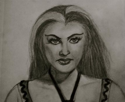 Lily Munster by ReticentRapture