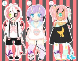 Cutie Demon Adopts [AUCTION] (CLOSED) by lifeforce10