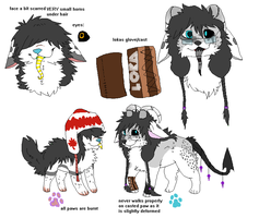 maple and loka joint ref by Melancholy-Nurse